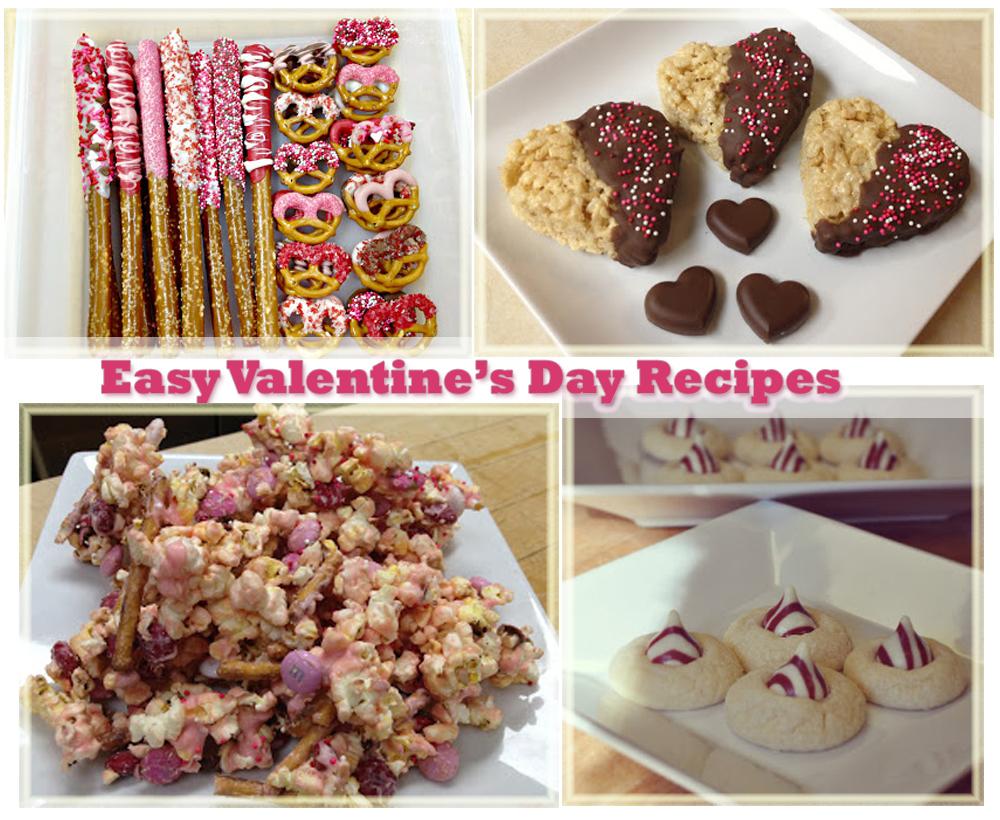 easy valentines day treat recipes - Easy Valentines Treats