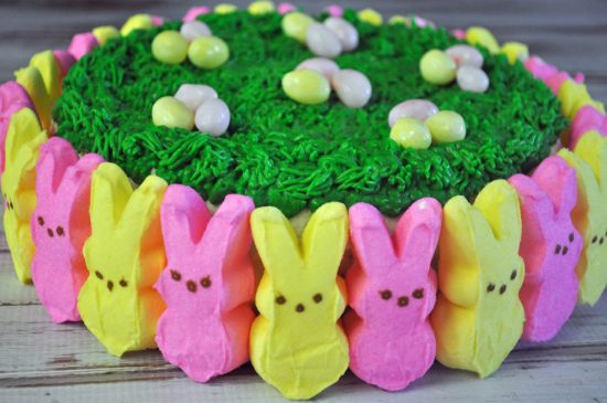 Peeps easter cake mommy s fabulous finds