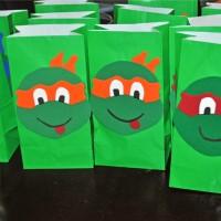 how to make teenage mutant ninja turtle goodie bags