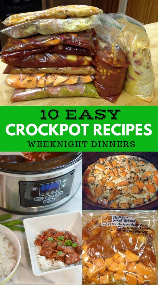 10 easy crockpot recipes