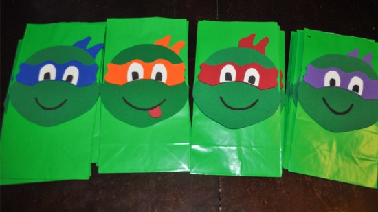 tmnt goodie bag template