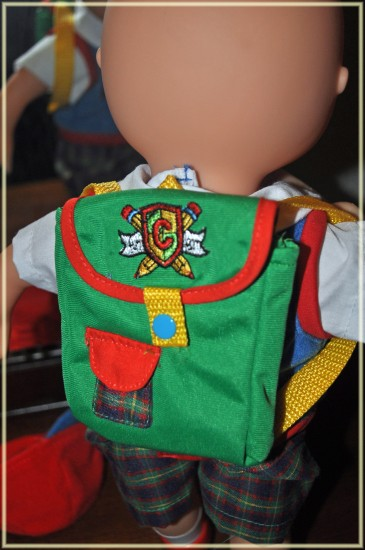 caillou talking doll
