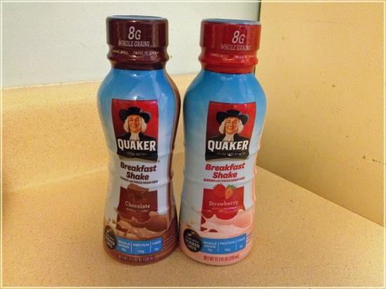 quaker breakfast shake
