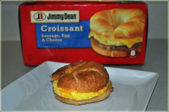 Jimmy Dean® sausage, egg and cheese croissants
