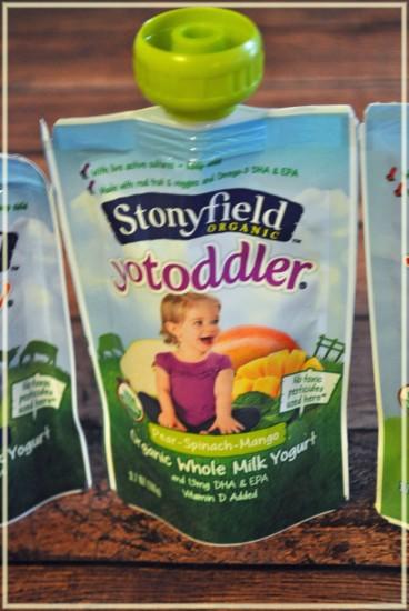 yotoddler organic yogurt pouches