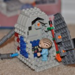 Family Guy Stewie & Time Machine Building Set