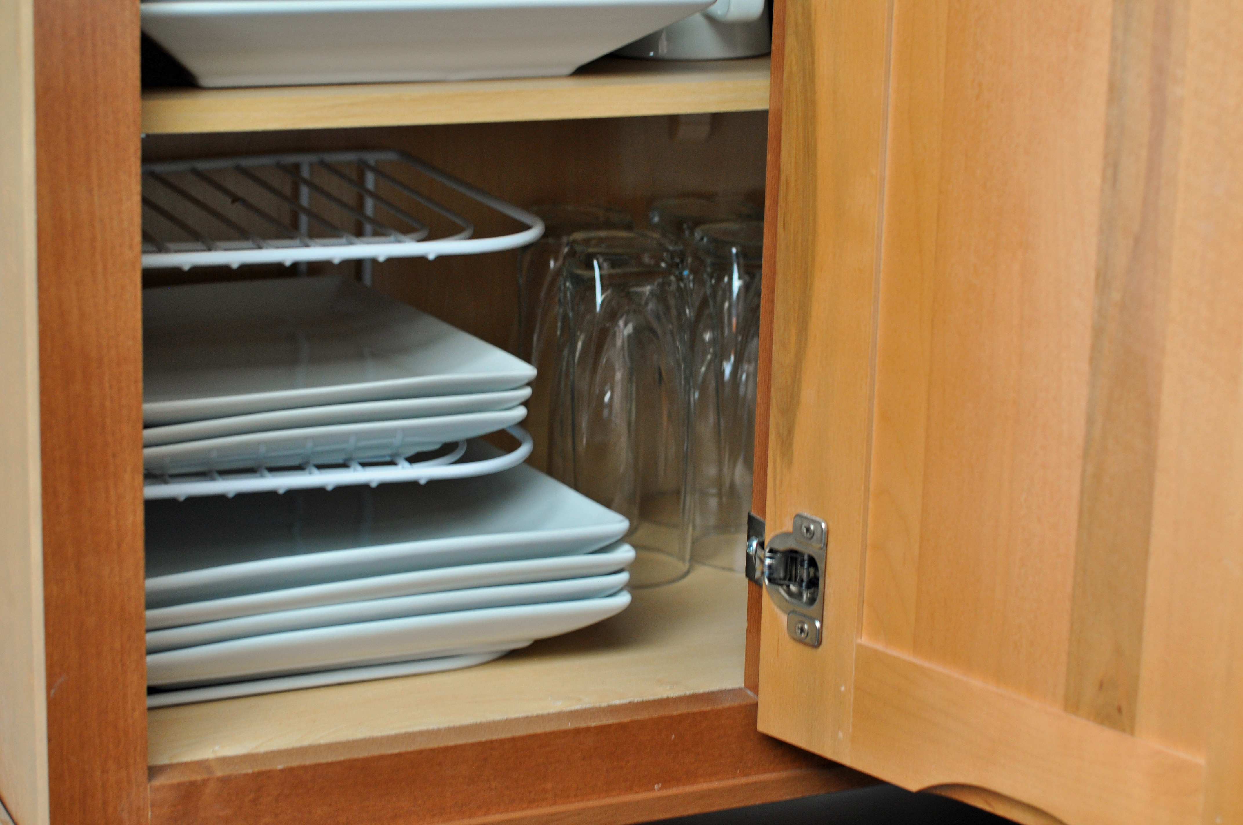 Adding A Decorative Touch To The Cabinets With Duck Brand