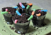 Dirt Cups With Gummy Worms
