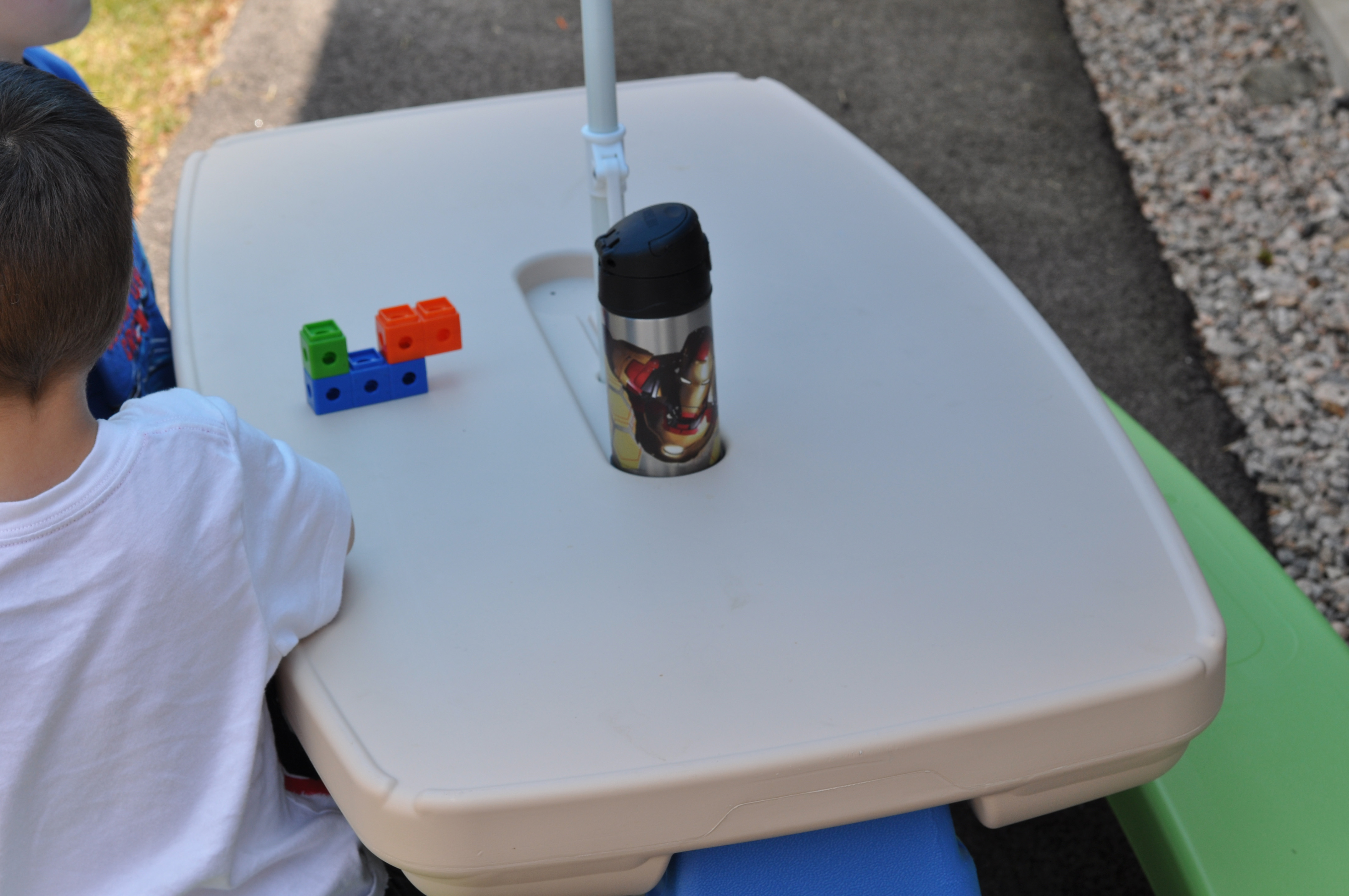 Little tikes picnic table little tikes easy store picnic table little tikes easy store picnic table with umbrella watchthetrailerfo