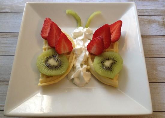 butterfly waffle