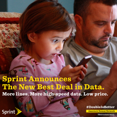 Spend Less Double The Data Sprint S New Family Share