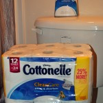 Cottonelle wet+dry system