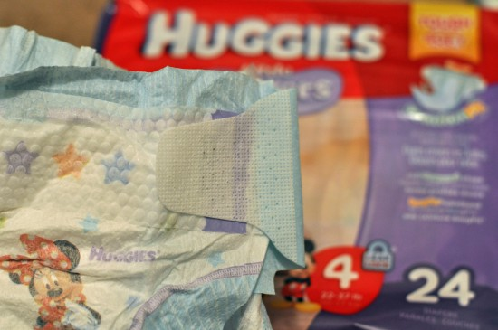Huggies Little Movers diapers with Double Grip Strips