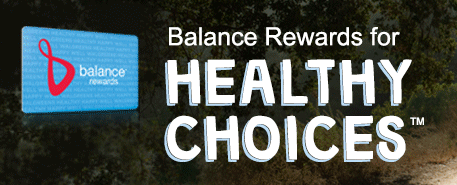 balance rewards healthy choices