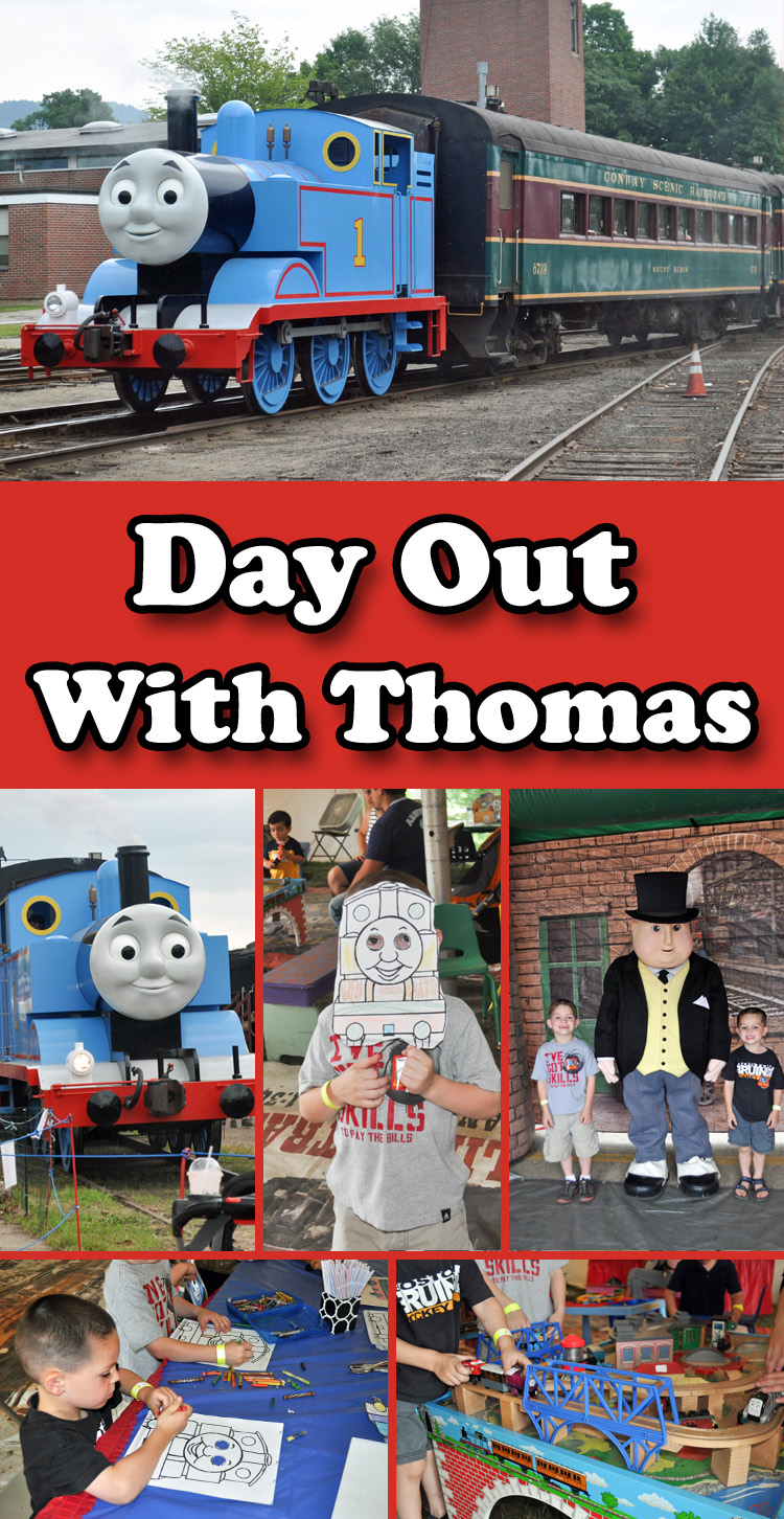day out with thomas conway scenic railroad