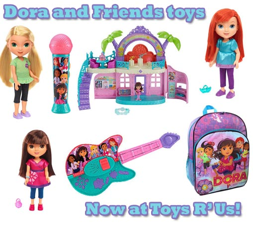 dora and friends toys at toys r us