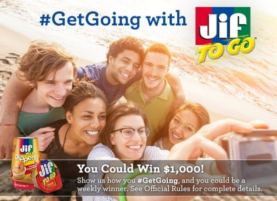 get going with jif to go