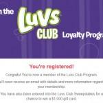 luvs loyalty club