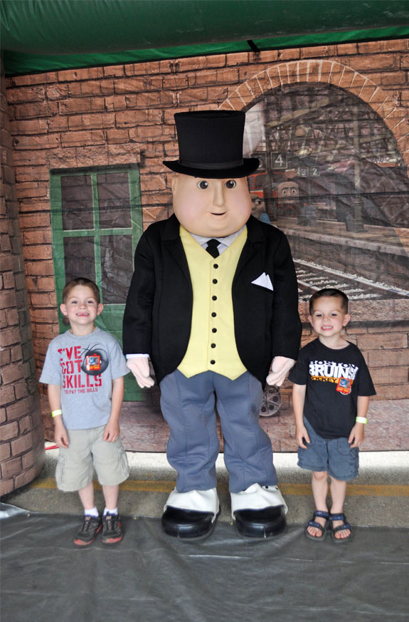 photo with sir topham hat