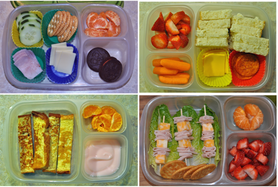 Easy Bento School Lunches