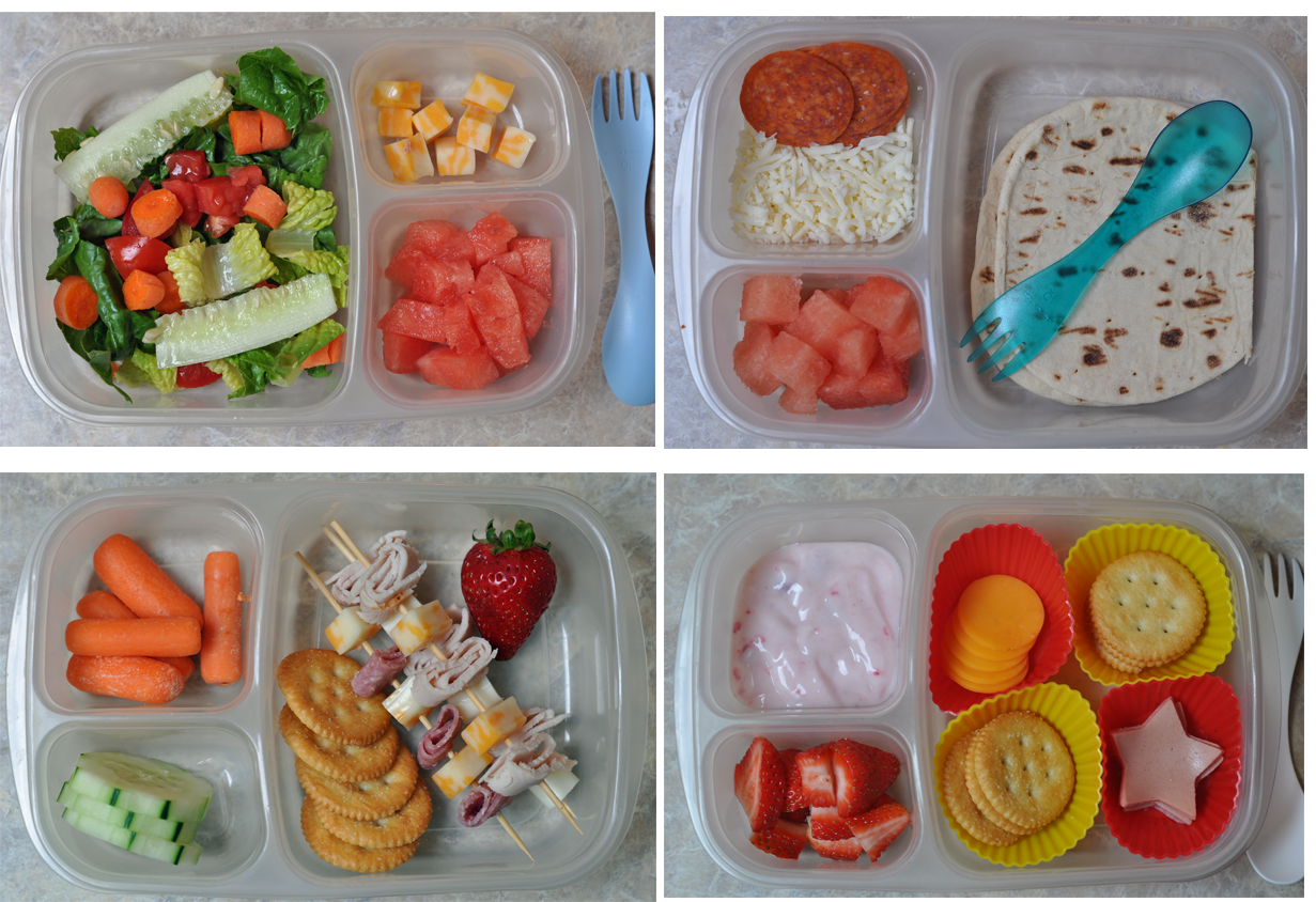 Here are 10 ideas for sandwich-free lunches that take cues from home and abroad. Test drive them all with your little eaters (or yourself!) to find new, interesting lunch box variations that keep everyone's appetites healthy.