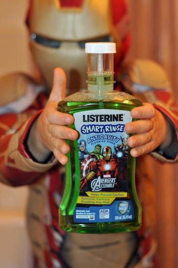 LISTERINE Smart Rinse Anticavity Fluoride Rinse