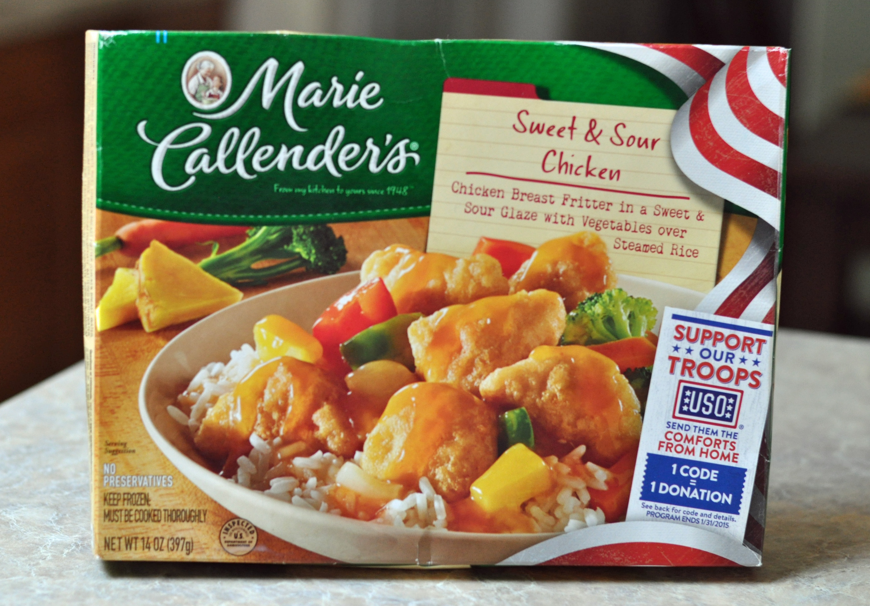 Marie Callender's Partners with USO To Provide Comforts from Home