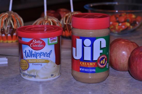 caramel peanut butter apples