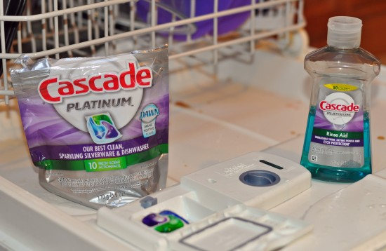 Skip The Pre-Wash With Cascade Platinum #Giveaway - Mommy