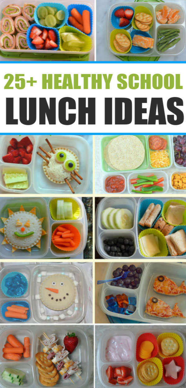 25 healthy school lunch ideas