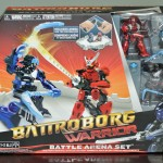 Battroborg Warrior Battle Arena Set Samurai Vs Ninja