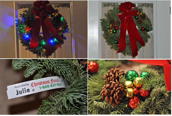 Forest Fresh Christmas Wreath - Christmas Forest