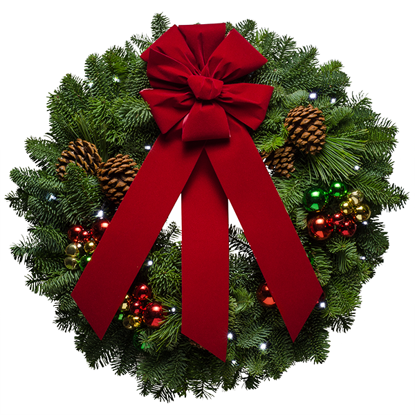 Forest Fresh Christmas Wreaths From Christmas Forest + 4