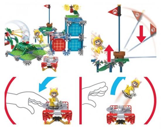 K'NEX Cat Mario Building Set