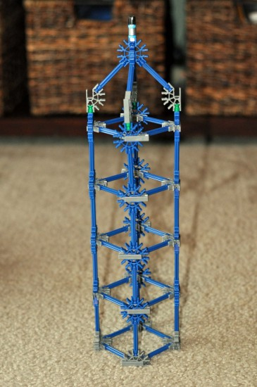 K'NEX 52 model Building Set Tower model