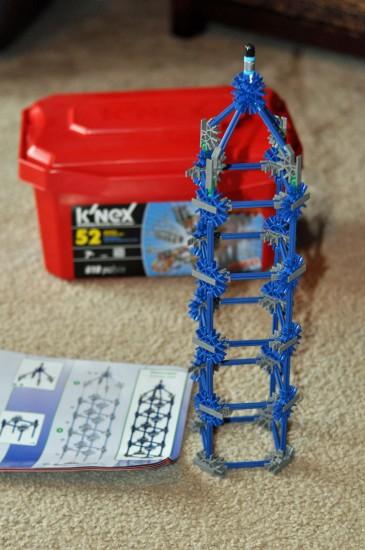 K'NEX 52 model Building Set tower