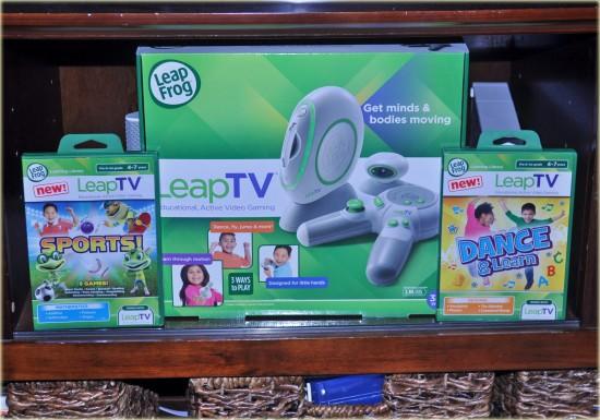 LeapFrog LeapTV Childrens Gaming System