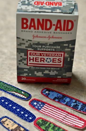 OUR VETERAN HEROES BAND-AID Bandages