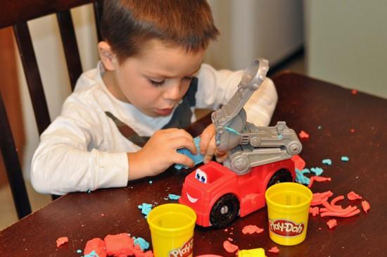 Play-doh fireman