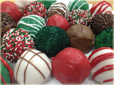 holiday oreo cookie balls