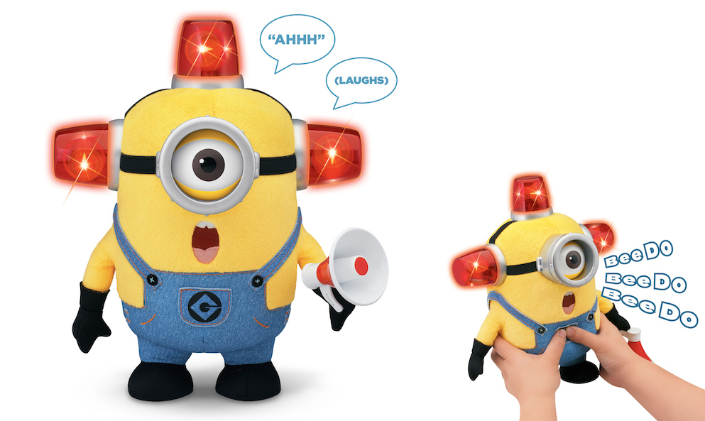 "Holiday Gift Guide: Despicable Me™ ""Bee-Do"" Fireman Minion ..."