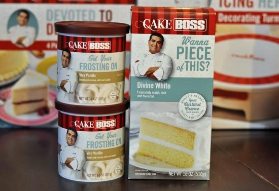 Cake Boss Cake & Frosting