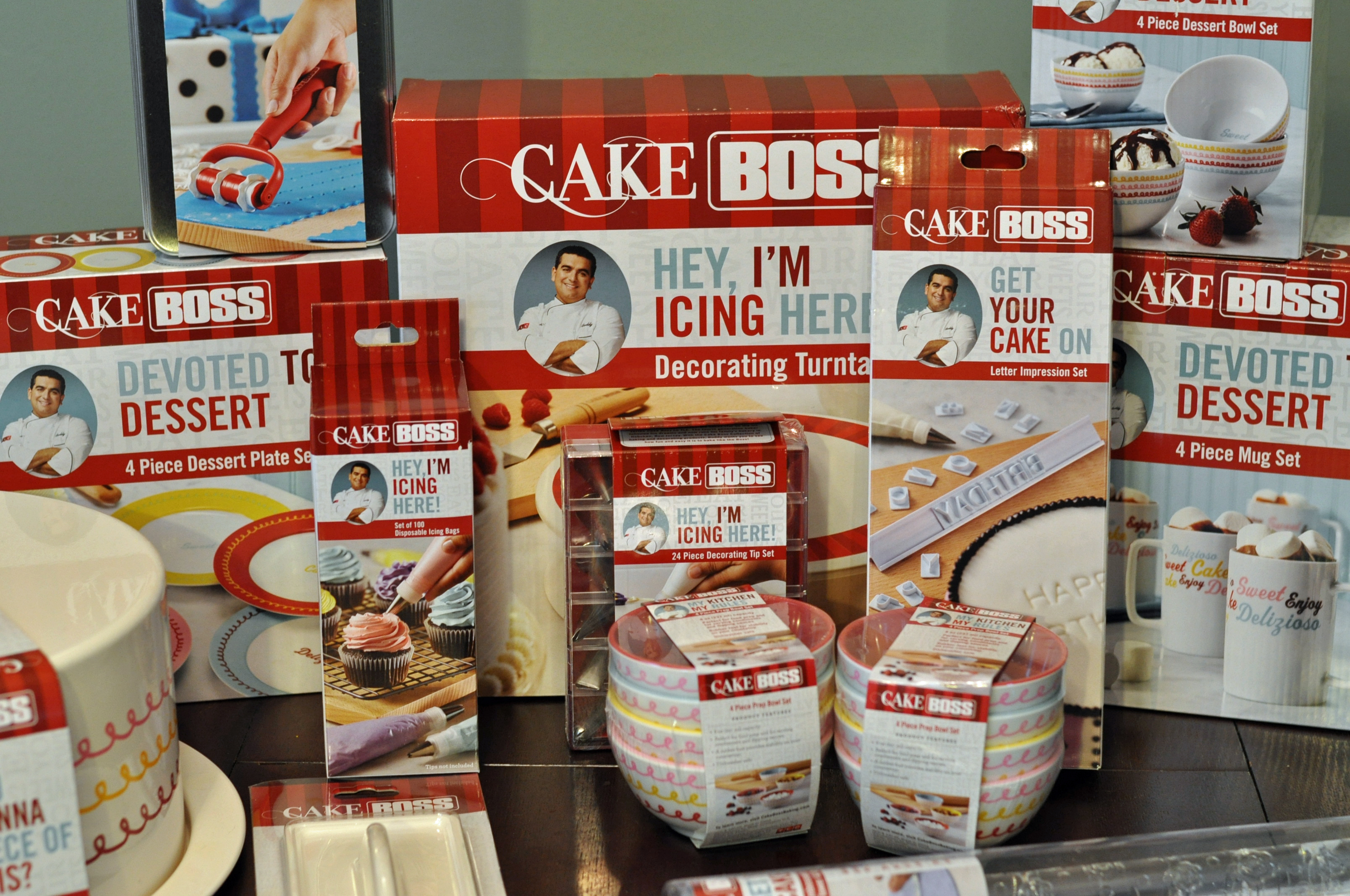 Cake Boss Decorating Kit : Tips For Cake Decorating #CakeBossParty