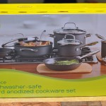 Food Network 10-pc Hard-Anodized Nonstick Dishwasher Safe Cookware Set