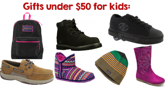 Gifts for Children under 50 from ShoeBuy