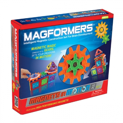 Magnets in Motion 32 Piece Gear Set