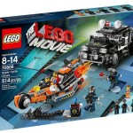 The LEGO Movie Syper Cycle Chase