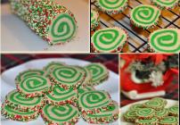 Christmas Pinwheel Cookies