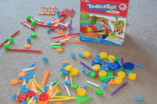 tinkertoy 200 pieces