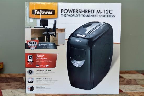 Fellowes M-12 shredder